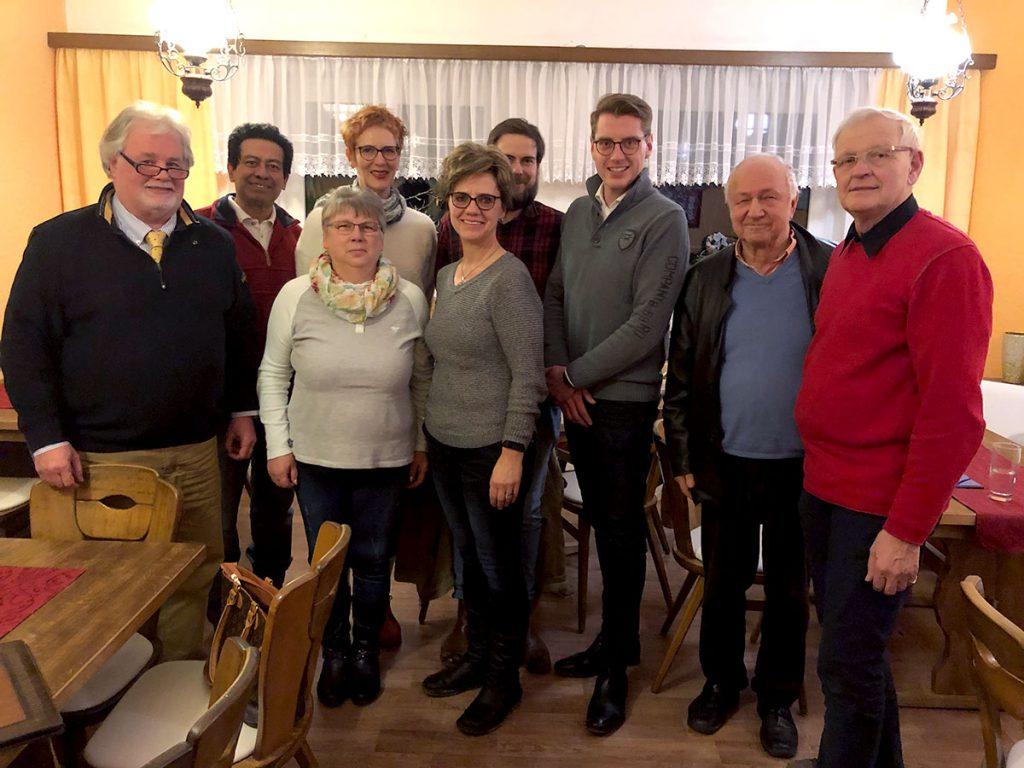 Vorstand der SPD Insel Usedom